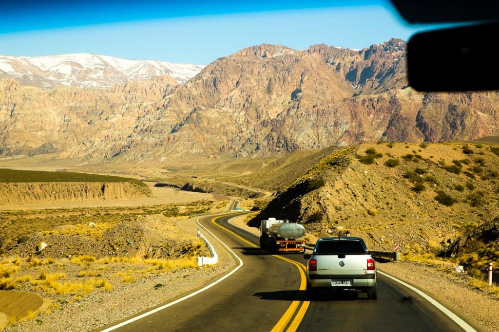Potrerillos, Picheuta, Penitentes, a beleza do Vale de Uspallata