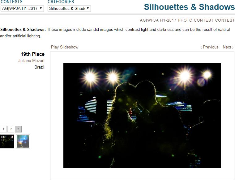 19º lugar agwpja h1-17 silhouettes & Shadows